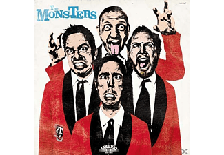 The Monsters - Pop Up Yours - (CD)