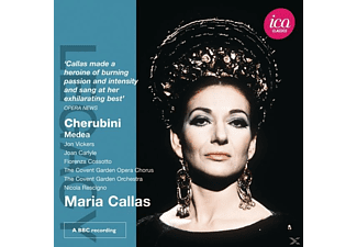 Joan Carlyle, Jon Vicker, Maria Callas, Elisabeth Rust, David Allen, Covent Garden Opera Chours, Mary Wells, Orchestra Of The Royal Opera House - Medea [Doppel-CD] - (CD)