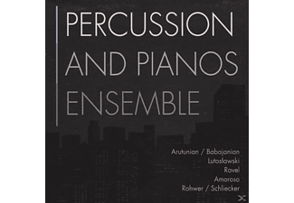 Percussion & Pianos Ensemble - Percussion & Pianos Ensemble - (CD)