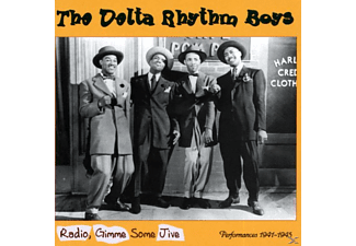 The Delta Rhythm Boys - Radio, Gimme Some Jive-Performances 1941-1945 - (CD)