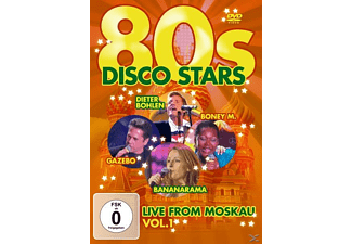 VARIOUS - 80s Disco Stars Live From Moskau Vol.1 - (DVD)