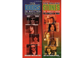 DOORS,THE & ROLLING STONES,THE - The Doors Are Open/The Stones In The Park - (DVD)