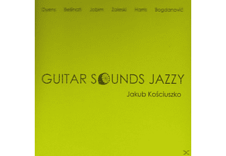 Jakub Kosciuszko - Guitar Sounds Jazzy - (CD)