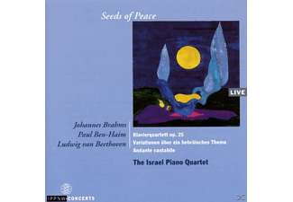 The Israel Piano Quartett - Seeds Of Peace - (CD)