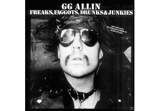 G.G. Allin - Freaks,Faggots,Drunks & Junkies - (Vinyl)