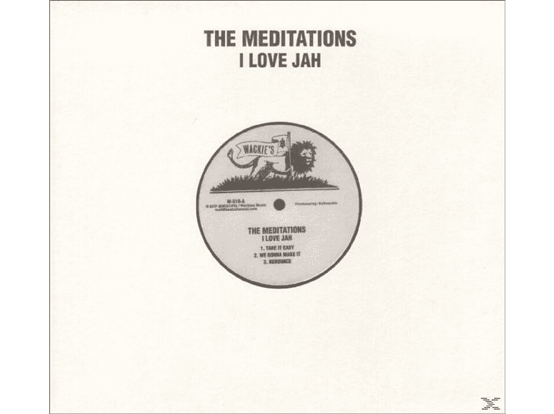 The Meditations - I Love Jah [Vinyl]