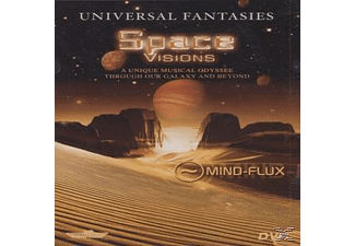 VARIOUS, Mind-flux - Universal Fantasies - Space Visions - (DVD)