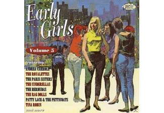 VARIOUS - Early Girls Vol.5 - (CD)