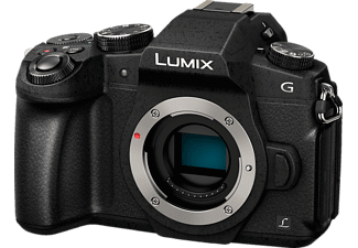 PANASONIC Lumix DMC-G81 Body Systemkamera 16 Megapixel  , 7.5 cm Display