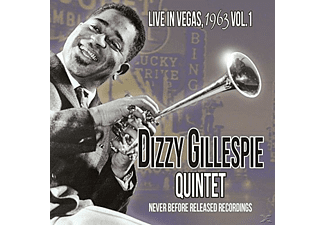 Dizzy Quartet Gillespie - Live In Vegas,1963 Vol.1 - (CD)