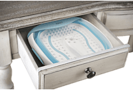 HOMEDICS FB-350-EU Foot Spa Fußsprudelbad, Weiß
