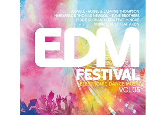 VARIOUS - EDM Festival-Electronic Dance Music Vol.5 - (CD)