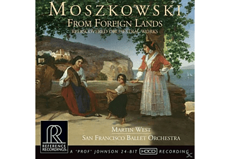 Martin & San Francisco Ballet Orchestra West - From Foreign Lands-Rediscovered Orchestral Works - (CD)