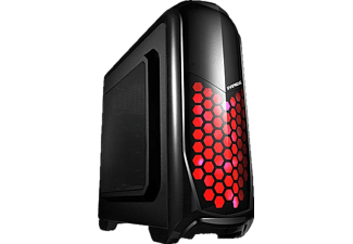 EVEREST Rampage Armego Siyah 2 x 12 cm Fan Red LED Fan 2 x USB 3.0 Bilgisayar Kasası