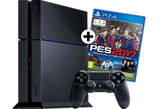 SONY PS4 500GB + PES 2017