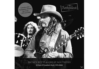 BETTS DICKEY/GREAT SOUTHERN - Rockpalast: Southern Rock [CD]