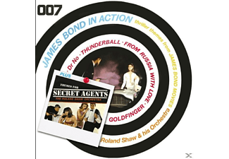 Roland & His Orchestra Shaw - James Bond In Action-Themes For SecretAgents - (CD)