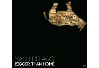 Manu Delago - Bigger Than Home - (CD)