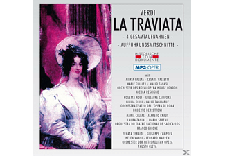 Chor & Orch.D.Royal Opera House Covent Garden - La Traviata-Mp 3 Oper - (MP3-CD)