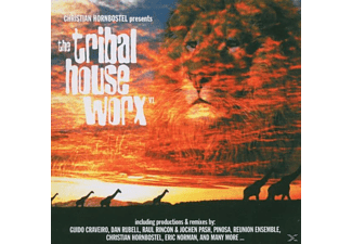 Christian Hornbostel - tribal house worx vol.1 - (CD)