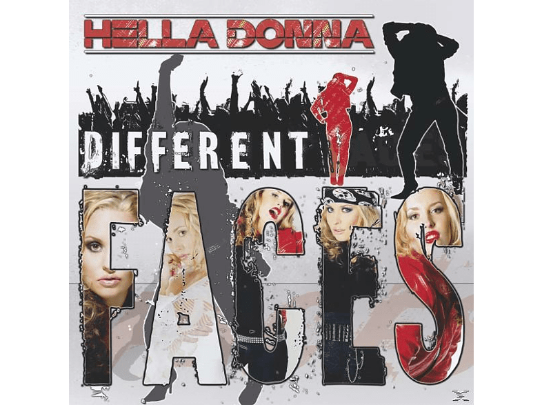 Hella Donna - Different Faces [CD]