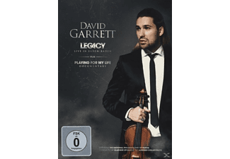 David Garrett - LEGACY-LIVE IN BADEN BADEN (LTD.DELUXE EDT.) - (DVD)
