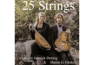 Gabriele Janneck-Detring & Martin G.Günkel - 25 Strings - (CD)