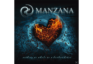 Manzana - NOTHING IS AS WHOLE AS A BROKEN HEART - (CD)