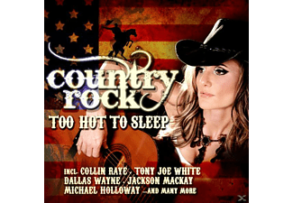 VARIOUS - Country Rock-Too Hot To Sleep - (CD)