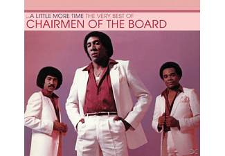 Chairmen of the Board - A Little More Time - (CD)