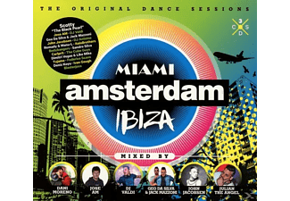 VARIOUS - Miami Amsterdam Ibiza - (CD)