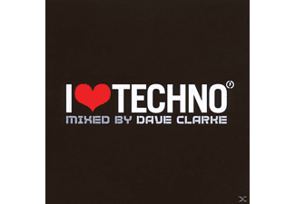 VARIOUS, Dave Clarke - I Love Techno 2007 - (CD)