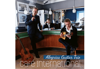 Alegrias Guitar Trio - Cafe International - (CD)