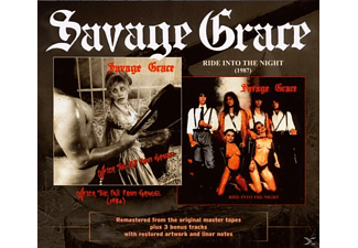 Savage Grace - After The Fall From Grace & Ride Into The Night - (CD)