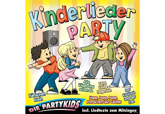 Die Partykids - Kinderlieder-Party - (CD)