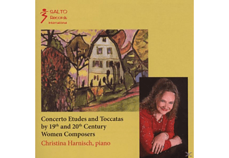 Christina Harnisch - Concerto Etudes And Toccatas For Piano - (CD)