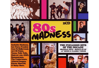 VARIOUS - 80s Madness - (CD)