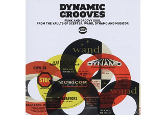 VARIOUS - Dynamic Grooves-Funk And Groovy Soul From The Vaul - (CD)