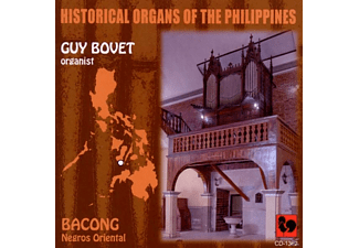 Guy Bovet - Historische Orgeln der Philippinen: Bacong,Negros - (CD)