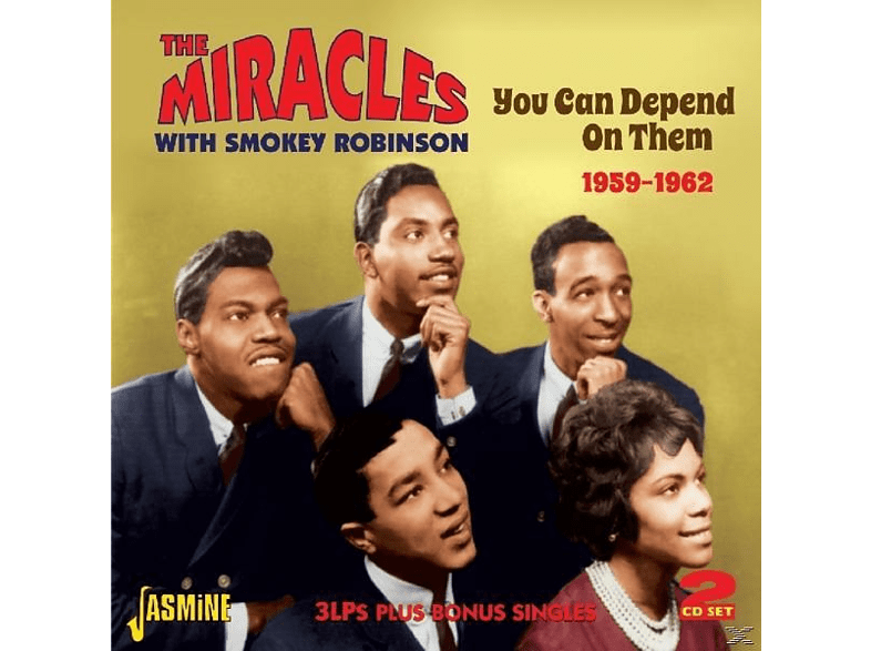 The Miracles - You Can Depend On Them [CD]