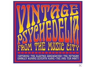 The Electric Screwdriver - Vintage Psychedelia From The Music City - (CD)