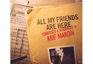 Arif Mardin - All My Friends Are Here (Feat.Norah Jones, Willie - (CD)