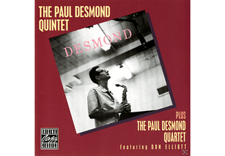 Paul Desmond - The Paul Desmond Quintet And Quartet - (CD)