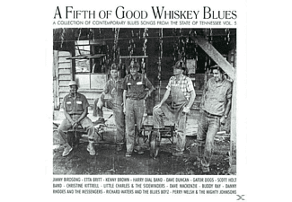 VARIOUS - A Fifth Of Good Whiskey Blues - (CD)