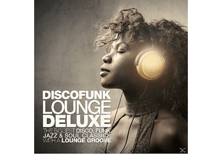 VARIOUS - Discofunk Lounge Deluxe - (CD)