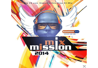 VARIOUS - Sunshine Live-Mix Mission 2014 - (CD)
