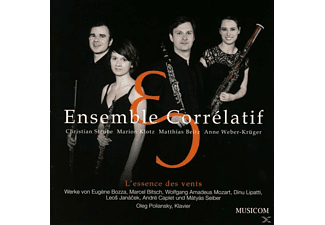 Ensemble Corrélatif - L'essence des vents - (CD)