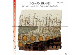 VARIOUS, Rosbaud/SO des SWF Baden-Baden - Also sprach Zarathustra/Don Juan/Macbeth - (CD)