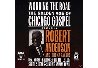 Robert Anderson - Working The Road - (CD)