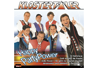 Klostertaler - Happy Party Power - (CD)